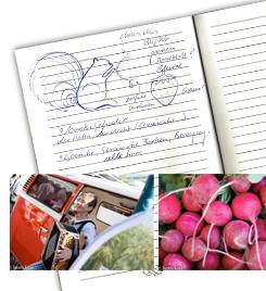 Handskizzen von Christina Zwittag und Fotografien von Daniela Köppl