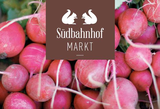 Radieschen vom Markt mit neuem Logo